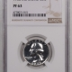 New Certified Coins 1953 PROOF WASHINGTON QUARTER – NGC PF-65 STAR LOOKS FULL CAMEO!