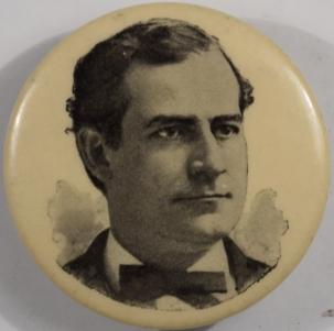 Political 1896 1 1/2″ BRYAN LAPEL STUD – RARE!