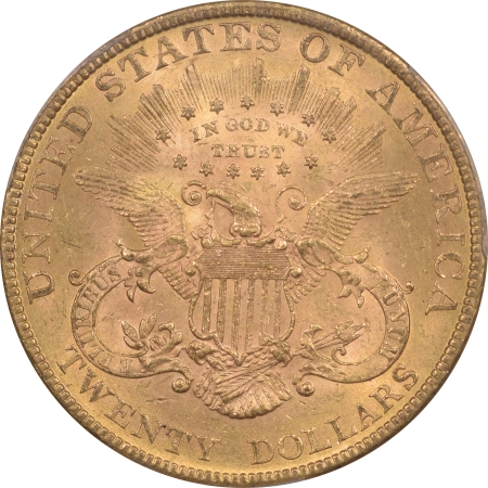 New Certified Coins 1888 $20 LIBERTY HEAD GOLD – PCGS MS-62+ SCARCE & UNDERRATED DATE!