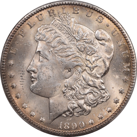 New Certified Coins 1890-CC MORGAN DOLLAR – PCGS MS-63