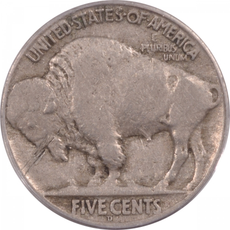 Buffalo Nickels 1918/7-D BUFFALO NICKEL – PCGS F-12 STRONG OVERDATE!