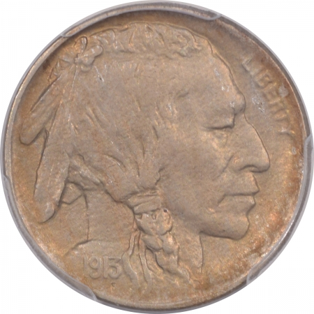 New Certified Coins 1913-D BUFFALO NICKEL – TY I – PCGS MS-64