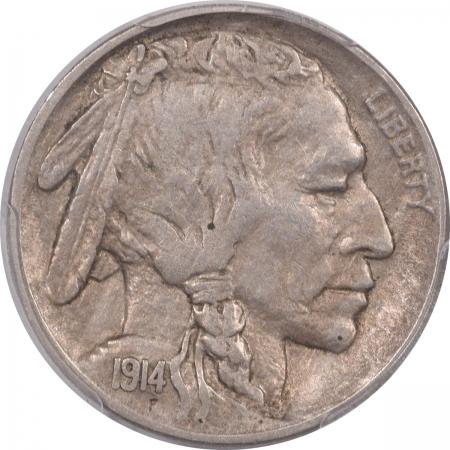 New Certified Coins 1914 BUFFALO NICKEL – PCGS XF-45