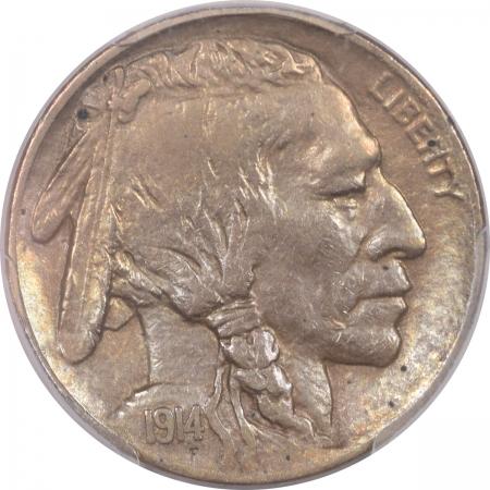 Coin World/Numismatic News Featured Coins 1914-D BUFFALO NICKEL – PCGS AU-50