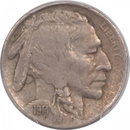 New Certified Coins 1914-S BUFFALO NICKEL – PCGS VF-35