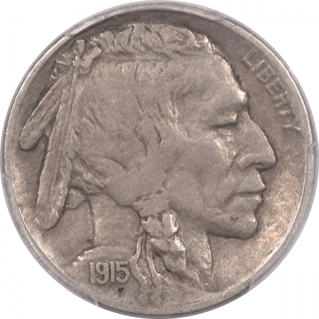 New Certified Coins 1915-S BUFFALO NICKEL – PCGS VF-35