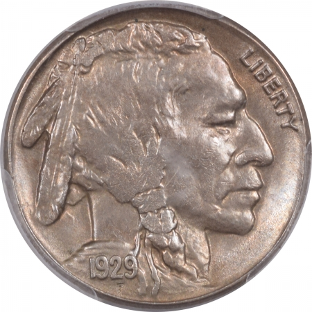Buffalo Nickels 1929-S BUFFALO NICKEL – PCGS MS-63
