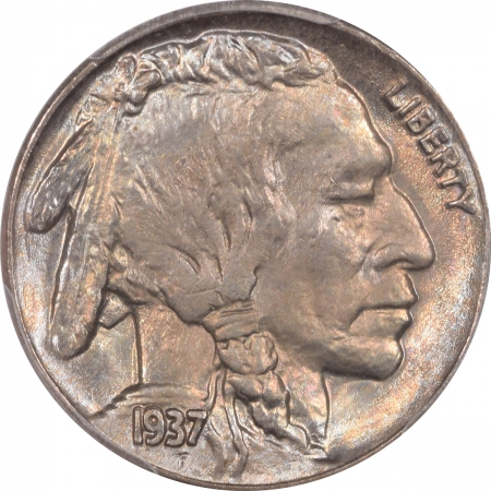 Buffalo Nickels 1937 BUFFALO NICKEL – PCGS MS-65