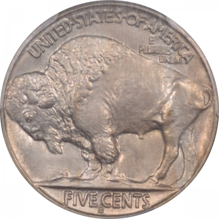Buffalo Nickels 1937-S BUFFALO NICKEL – PCGS MS-65