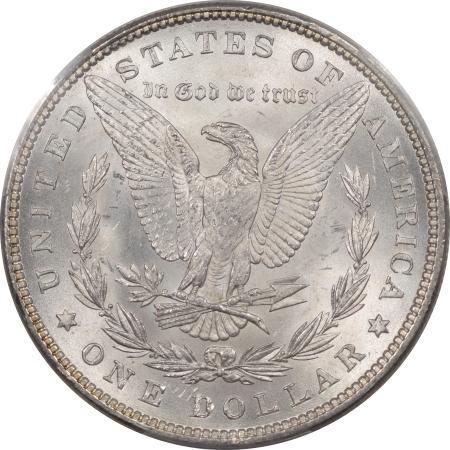 Dollars 1881 MORGAN DOLLAR PCGS MS-65, BLAST WHITE & NICE!