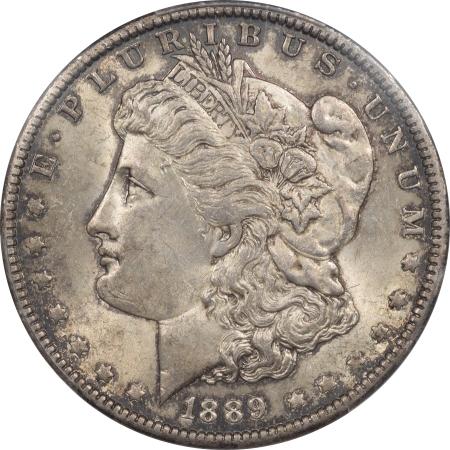 Coin World/Numismatic News Featured Coins 1889-O MORGAN DOLLAR – PCGS MS-63, ORIGINAL CHOICE COIN