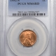 New Certified Coins 1952-D LINCOLN CENT – PCGS MS-66 RD