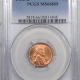 New Certified Coins 1954 LINCOLN CENT – PCGS MS-65 RD