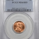New Certified Coins 1958 LINCOLN CENT – PCGS MS-66 RD