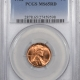 New Certified Coins 1961-D LINCOLN CENT PCGS MS-65 RD