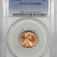 New Certified Coins 1962 LINCOLN CENT PCGS MS-65 RD