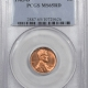 New Certified Coins 1963 LINCOLN CENT PCGS MS-65 RD