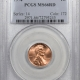 New Certified Coins 1974-D LINCOLN CENT PCGS MS-66 RD, PQ