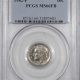U.S. Certified Coins 1834 CAPPED BUST HALF DIME – PCGS MS-62, GORGEOUS!