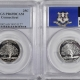 New Certified Coins 2000-S MASSACHUSETTS PROOF STATE QUARTER 2 COIN SILVER & CLAD SET PCGS PR69 DCAM
