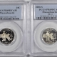 U.S. Certified Coins 2000-S MARYLAND PROOF STATE QUARTER 2 COIN SILVER & CLAD SET PCGS PR69 DCAM