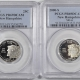 U.S. Certified Coins 2000-S VIRGINIA PROOF STATE QUARTER 2 COIN SILVER & CLAD SET PCGS PR69 DCAM