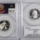 New Certified Coins 2007-S WYOMING PROOF STATE QUARTER 2 COIN SILVER & CLAD SET PCGS PR69 DCAM FLAG