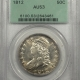 New Certified Coins 1844-O LIBERTY SEATED HALF DOLLAR -DOUBLED DATE PCGS G-4, TOUGH!