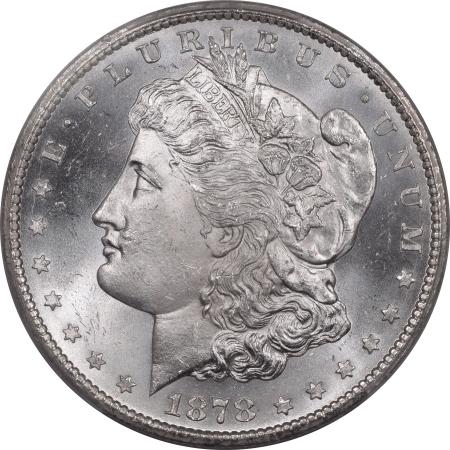 New Certified Coins 1878-CC MORGAN DOLLAR – PCGS MS-65+ BLAST WHITE, FLASHY & SUPERB!