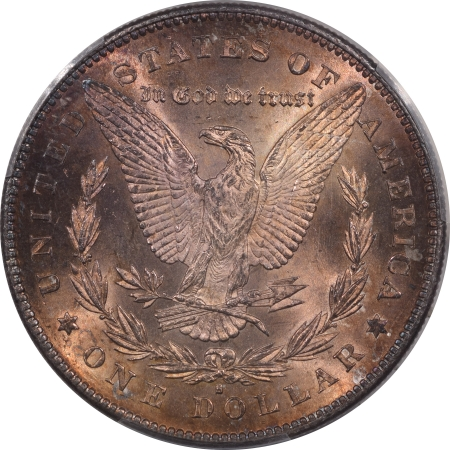 New Certified Coins 1879-S REV OF 78 MORGAN DOLLAR – PCGS MS-63 REALLY PRETTY & FRESH!