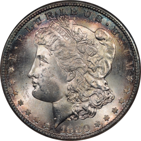 New Certified Coins 1880-S MORGAN DOLLAR – NGC MS-65, CAC APPROVED! FATTY HOLDER & PQ!