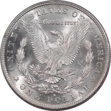 CAC Approved Coins 1881-S MORGAN DOLLAR – PCGS MS-67, BLAST WHITE! SUPERB!