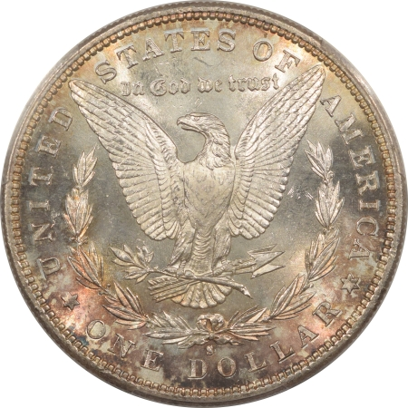 New Certified Coins 1882-S MORGAN DOLLAR – PCGS MS-67+ SIMPLY STUNNING, NEAR PERFECT! CAC APPROVED!