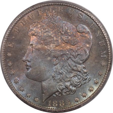 New Certified Coins 1883-CC MORGAN DOLLAR – PCGS MS-66+ PRETTY & SUPERB! CAC APPROVED!