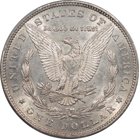 New Certified Coins 1890-CC MORGAN DOLLAR, TAILBAR, PCGS AU-58, WHITE & NEAR UNCIRCULATED, TOUGH!