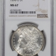 U.S. Certified Coins 1881-S MORGAN DOLLAR – NGC MS-67, BLAST WHITE & SUPERB!!!