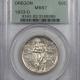 New Certified Coins 1936 ELGIN COMMEMORATIVE HALF DOLLAR – PCGS MS-65 GEM & PREMIUM QUALITY!