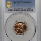 New Certified Coins 1933-D LINCOLN CENT – PCGS MS-66+RD, ORIGINAL! FIERY & SUPERB!