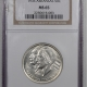 New Certified Coins 1939-D ARKANSAS COMMEMORATIVE HALF DOLLAR – NGC MS-64 PREMIUM QUALITY!