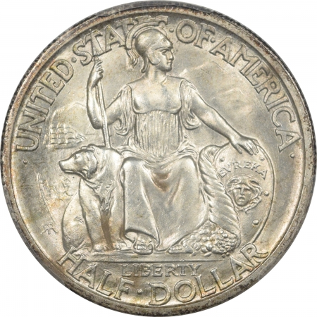 New Certified Coins 1935-S SAN DIEGO COMMEMORATIVE HALF DOLLAR – PCGS MS-66 PREMIUM QUALITY!