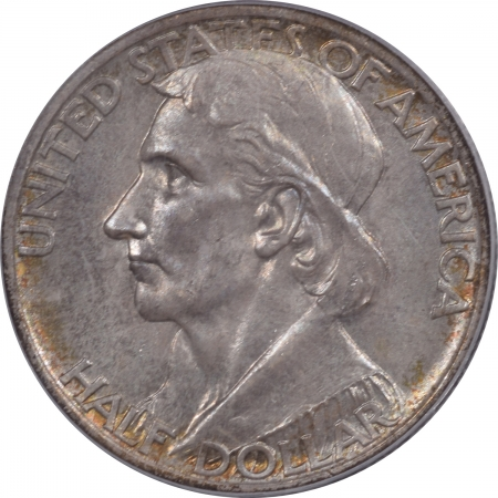 CAC Approved Coins 1936-S BOONE COMMEMORATIVE HALF DOLLAR – PCGS MS-64 PRETTY PQ & CAC! PL REV