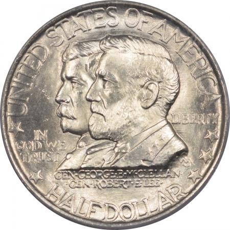 New Certified Coins 1937 ANTIETAM COMMEMORATIVE HALF DOLLAR – PCGS MS-64 OGH & PREMIUM QUALITY!