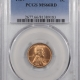 New Certified Coins 1939-S LINCOLN CENT – PCGS MS-66 RD