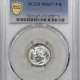 New Certified Coins 1940 MERCURY DIME – PCGS MS-66 FB, LOOKS MS-67! SUPERB & PQ!