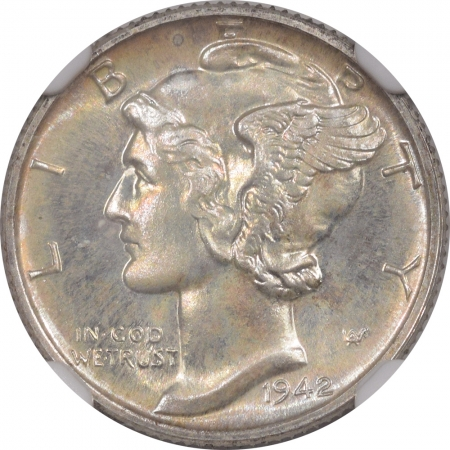 New Certified Coins 1942 PROOF MERCURY DIME NGC PF-67 CAC, ORIGINAL & PRISTINE, SUPERB