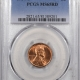 New Certified Coins 1945-S LINCOLN CENT – PCGS MS-66+ RD LOOKS 67, PREMIUM QUALITY!