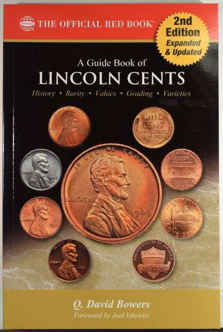 New Certified Coins A GUIDE BOOK OF LINCOLN CENTS, BY Q DAVID BOWERS, WHITMAN OFFICIAL RED BOOK, NEW