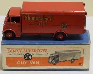 Dinky DINKY #514 GUY VAN-SLUMBERLAND; VG+ MODEL W/ VG+ BOX, BRIGHT & ATTRACTIVE-SCARCE