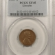 New Certified Coins 1909-S VDB LINCOLN CENT – PCGS XF-45, KEY DATE