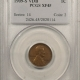 New Certified Coins 1909-S LINCOLN CENT – PCGS XF-45